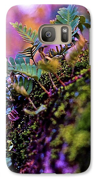Leaves On A Log Galaxy S7 Case