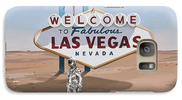 Leaving Las Vegas Galaxy Case by Scott Listfield