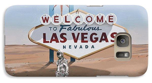 Astronaut Galaxy S7 Case - Leaving Las Vegas by Scott Listfield