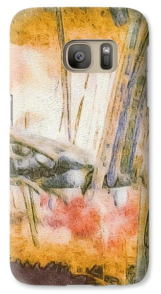 Galaxy Case featuring the photograph Leaving The Woods by William Wyckoff