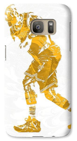 Lebron James Cleveland Cavaliers Pixel Art 13 Galaxy S7 Case