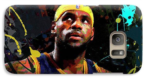 Lebron Galaxy S7 Case by Richard Day