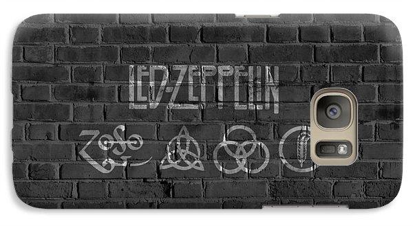 Led Zeppelin Brick Wall Galaxy S7 Case