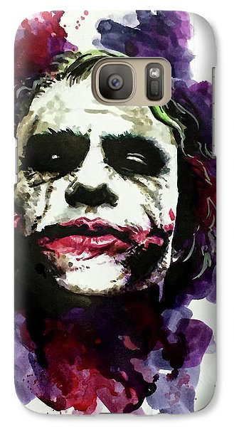 Ledgerjoker Galaxy S7 Case by Ken Meyer jr