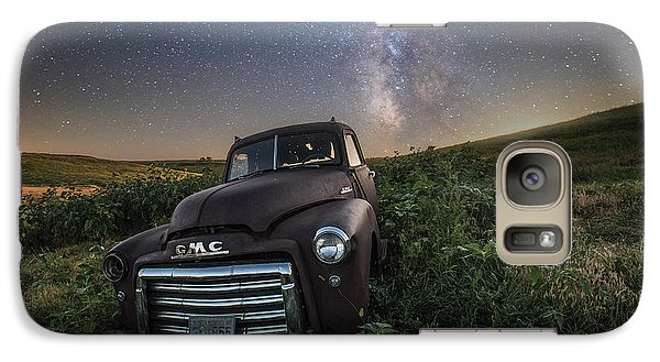 Galaxy Case featuring the photograph Left To Rust by Aaron J Groen