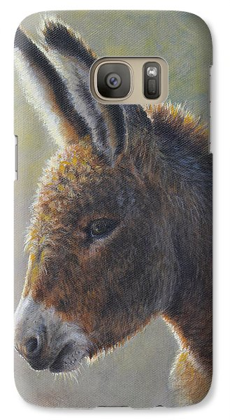 Galaxy Case featuring the painting Lefty by Kim Lockman