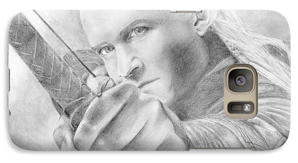 Orlando Bloom Galaxy S7 Case - Legolas Greenleaf by Bitten Kari