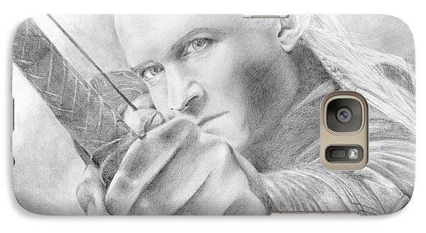 Legolas Greenleaf Galaxy S7 Case by Bitten Kari