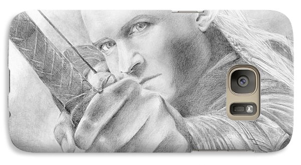 Legolas Greenleaf Galaxy S7 Case by Bitten Kari