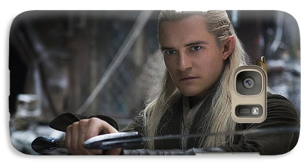 Orlando Bloom Galaxy S7 Case - Legolas by Naveen Sharma