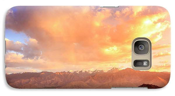 Galaxy Case featuring the photograph Leh, Ladakh by Alexey Stiop