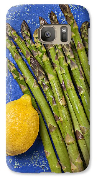 Lemon And Asparagus  Galaxy S7 Case by Garry Gay
