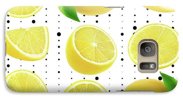 Lemon  Galaxy Case by Mark Ashkenazi