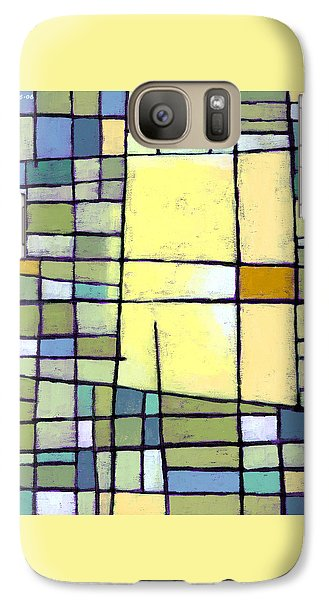 Lemon Squeeze Galaxy Case by Douglas Simonson