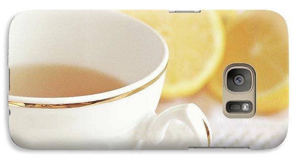 Galaxy Case featuring the photograph Lemon Tea by Lyn Randle