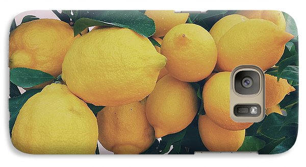 Lemon Tree Galaxy Case by Happy Home Artistry