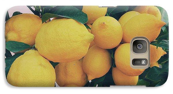 Lemon Tree Galaxy S7 Case by Happy Home Artistry