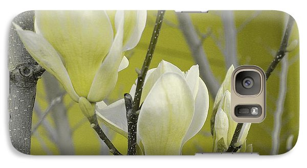 Galaxy Case featuring the photograph Lemon Yellow by Athala Carole Bruckner