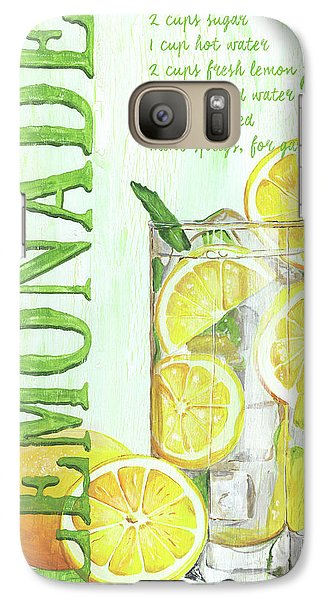 Galaxy Case featuring the painting Lemonade by Debbie DeWitt