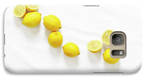 Lemons Galaxy Case by Lauren Mancke