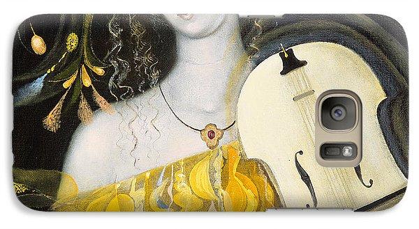 Violin Galaxy S7 Case - Leo by Annael Anelia Pavlova