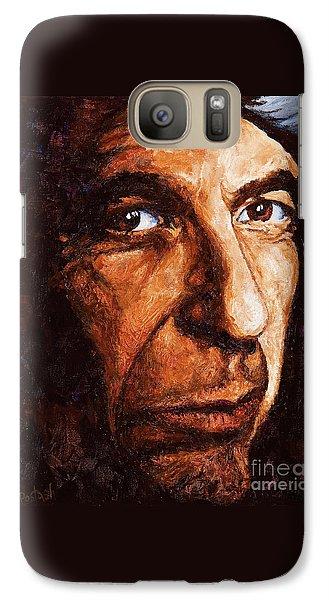 Leonard Cohen Galaxy S7 Case