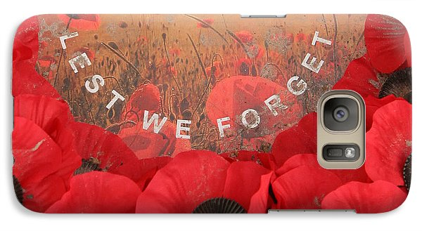 Galaxy S7 Case featuring the photograph Lest We Forget - 1914-1918 by Travel Pics