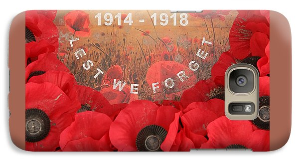 Lest We Forget - 1914-1918 Galaxy S7 Case