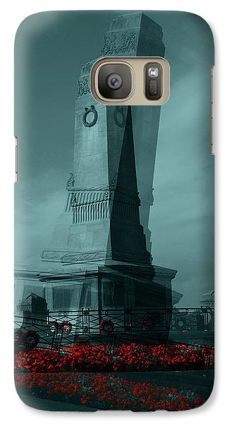 Galaxy Case featuring the photograph Lest We Forget. by Keith Elliott