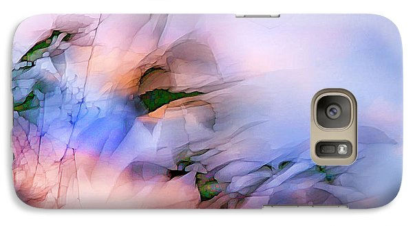 Galaxy Case featuring the photograph Let The Winds Of The Heavens Dance by Theresa Tahara
