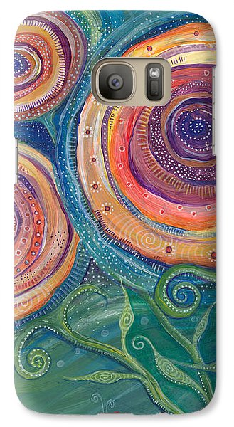 Galaxy Case featuring the painting Be The Light by Tanielle Childers