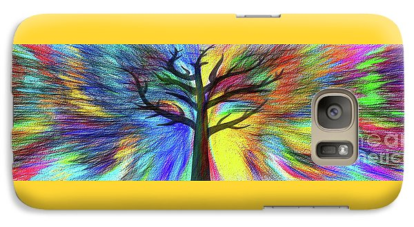 Galaxy Case featuring the photograph Let's Color This World By Kaye Menner by Kaye Menner