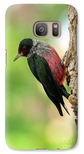 Lewis Woodpecker Galaxy S7 Case