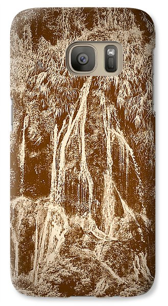 Galaxy Case featuring the photograph Li River Waterfall by Tom Vaughan
