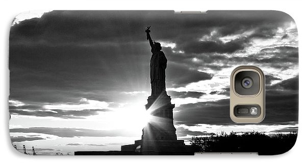 Galaxy S7 Case featuring the photograph Liberty by Ana V Ramirez