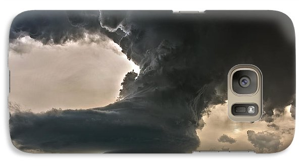Galaxy Case featuring the photograph Liberty Bell Supercell by James Menzies