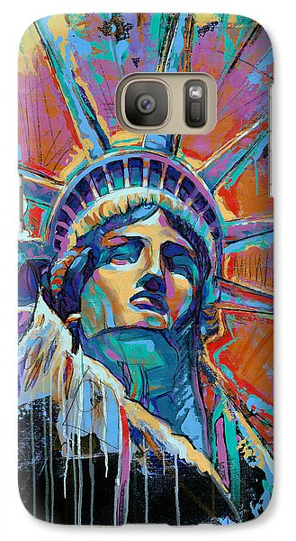 Liberty In Color Galaxy S7 Case by Damon Gray