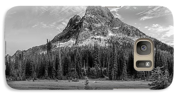 Galaxy Case featuring the photograph Liberty Mountain At Sunset by Jon Glaser