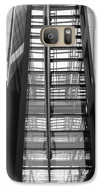 Galaxy Case featuring the photograph Library Skyway by Rona Black