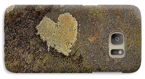 Galaxy Case featuring the photograph Lichen Love by Mike Eingle