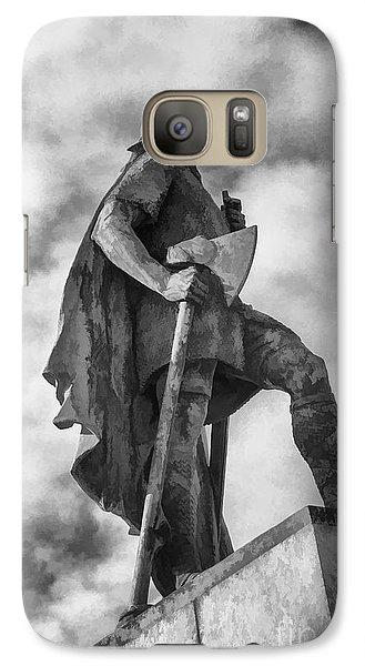 Galaxy Case featuring the photograph Lief Ericsson Reykjavik by Rick Bragan