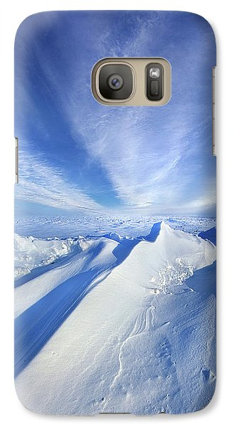 Galaxy Case featuring the photograph Life Below Zero by Phil Koch