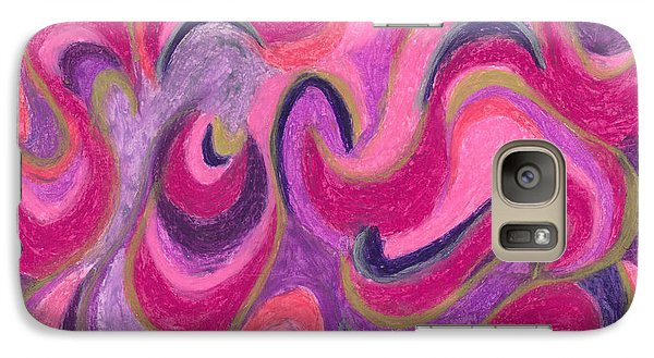 Galaxy Case featuring the painting Life Energy by Ania M Milo