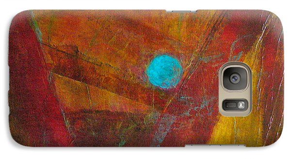 Galaxy Case featuring the painting Life Force by Mary Sullivan