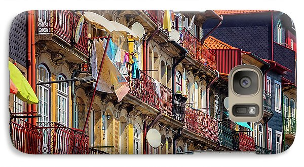 Galaxy Case featuring the photograph Life In Ribeira Porto  by Carol Japp