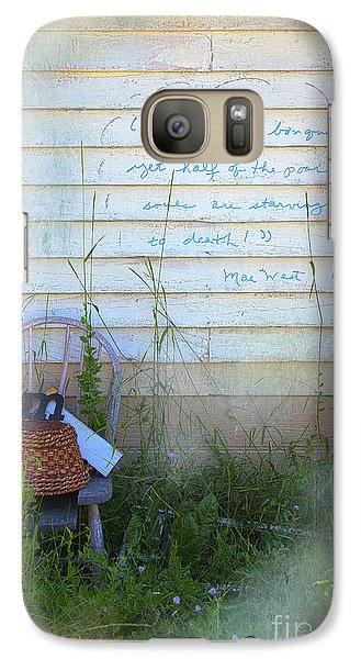 Galaxy Case featuring the photograph Life Is A Bouquet by Craig J Satterlee