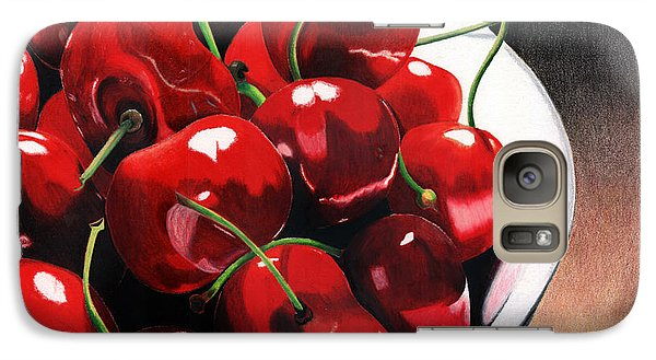 Galaxy Case featuring the painting Life Is.... by Angela Armano