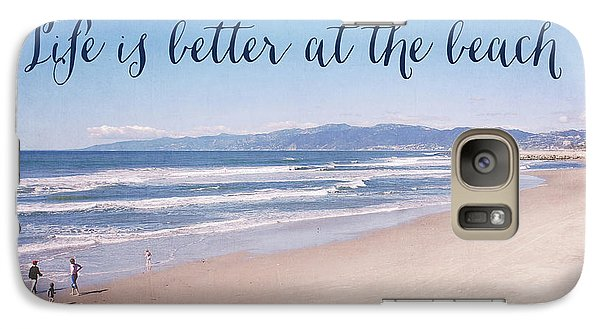 Venice Beach Galaxy S7 Case - Life Is Better At The Beach by Nastasia Cook