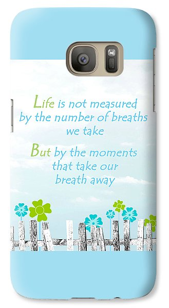 Galaxy Case featuring the photograph Life Measured by Cherie Duran