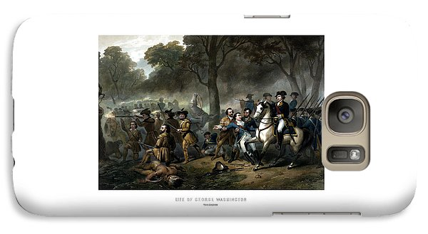 Life Of George Washington - The Soldier Galaxy S7 Case by War Is Hell Store
